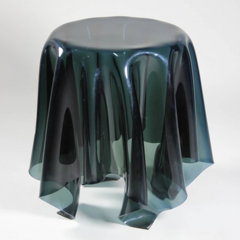 Re-edition of Essey Tall Illusion coffee table by John Brauer