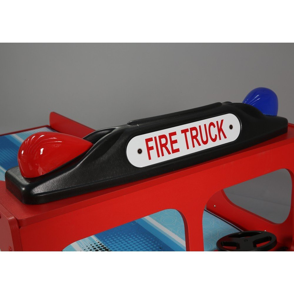 Lettino FIRE TRUCK SINGLE in mdf per bambini