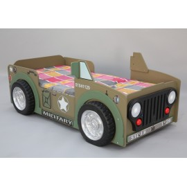 Off-road bed in the shape of JEEP