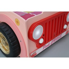 JEEP PINK model mdf baby bed
