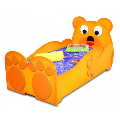 TEDDY BEAR single bed for children