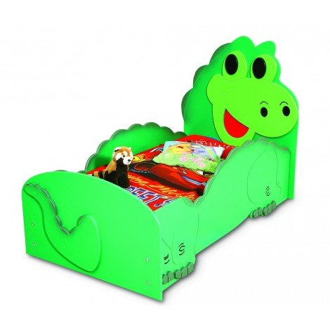 Single-size mdf beds for girl DINOSAURO model