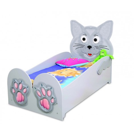CAT single bed in mdf