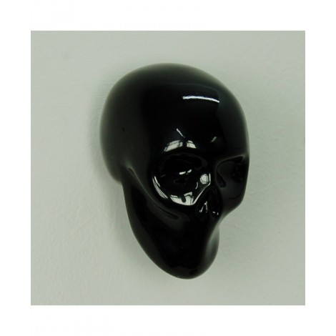 Wall hanger Skull in resin available in white, black and gold