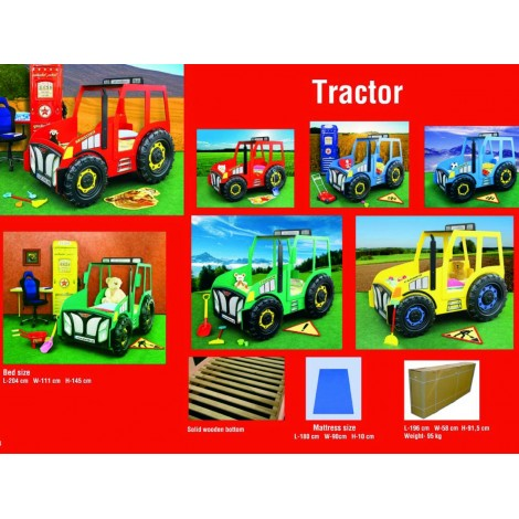 TRACTOR model tractor bed