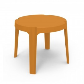 itamoby Rita stackable outdoor table in polyethylene available in various colors