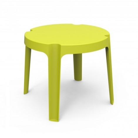 Rita stackable outdoor table in polyethylene available in various colors