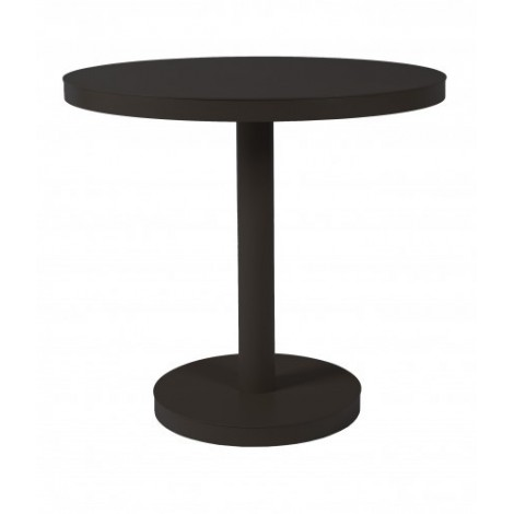 Barcino Round outdoor table in aluminum available in 2 sizes