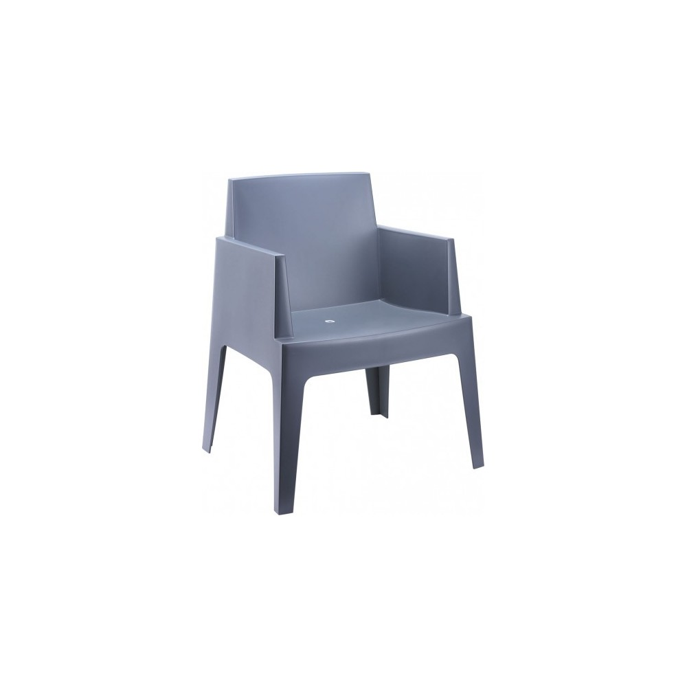 Urban outdoor armchair in polirpopilane stackable available in three different finishes