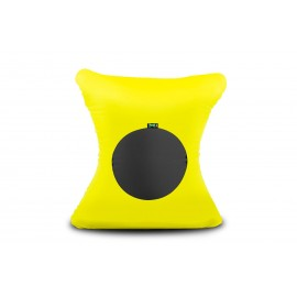 X FIVE pouf in elastic microfibre and breathable lycra padded with polyurethane foam spheres