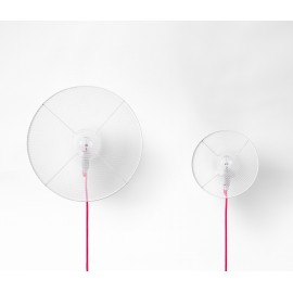 Grillo floor lamp with free wiring for those with space or positioning problems