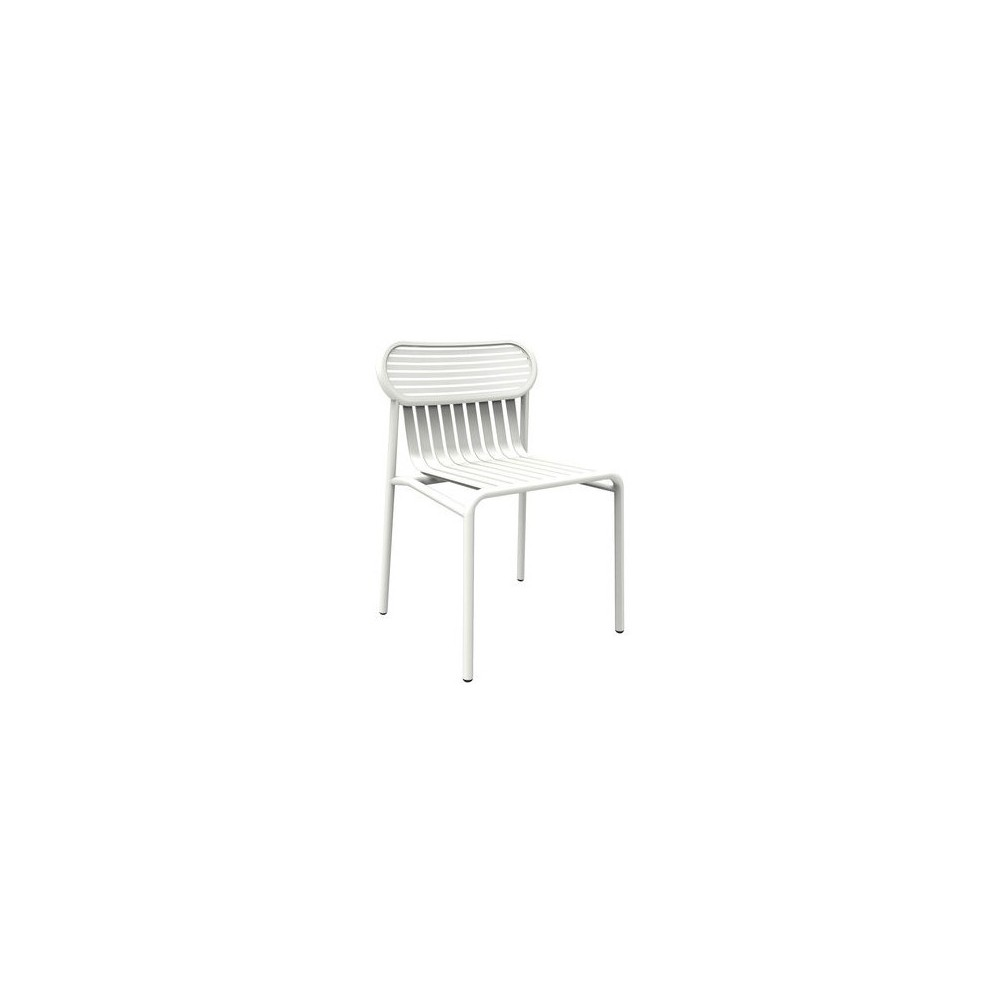 Week End outdoor chair in aluminum available in many colors