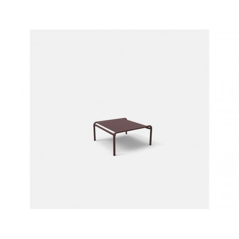 WEEK END outdoor smoking table in powder coated aluminum available in many colors