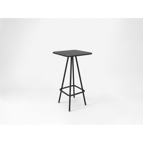WEEK END outdoor coffee table in powder-coated aluminum available in many colors