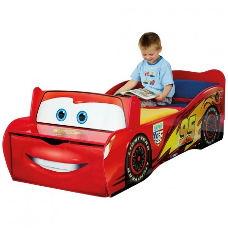 Lightning Mc Queen bed in MDF from the fantastic Disney Cars cartoon