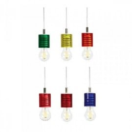 Carioca suspension lamp in methacrylic available in many colors