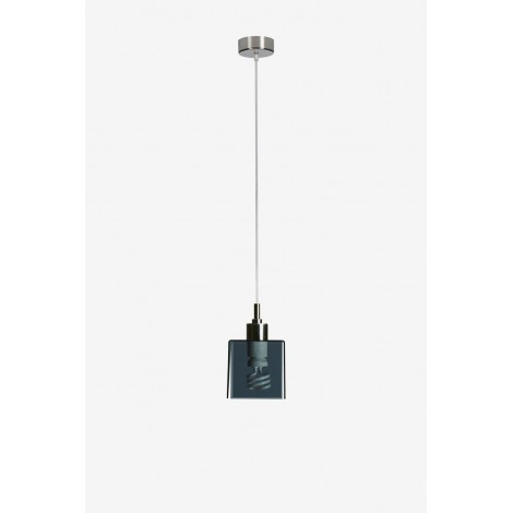Didodado suspension lamp with metal structure and PMMA diffuser available in several colors