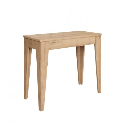 Extendable Console Kea with metal frame and wooden structure. Very suitable for small rooms.