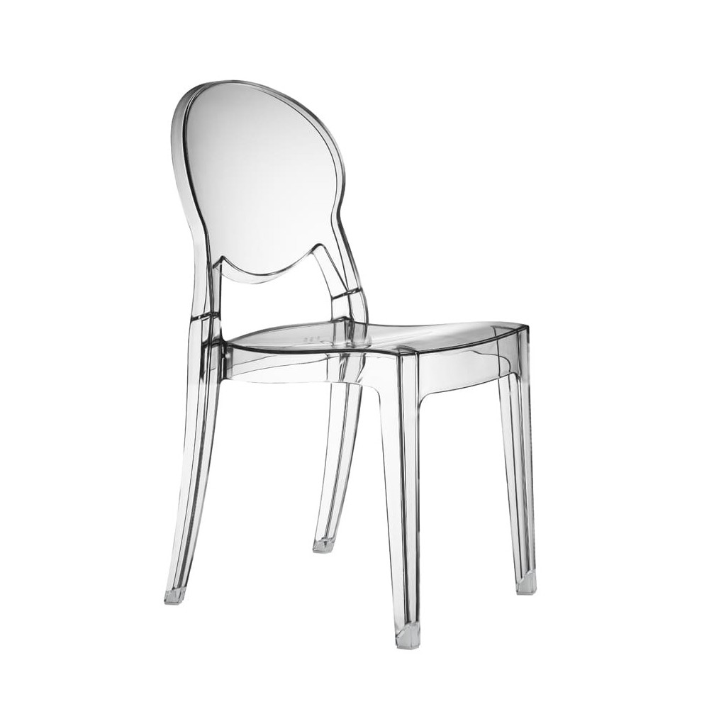 transparent igloo scab chair