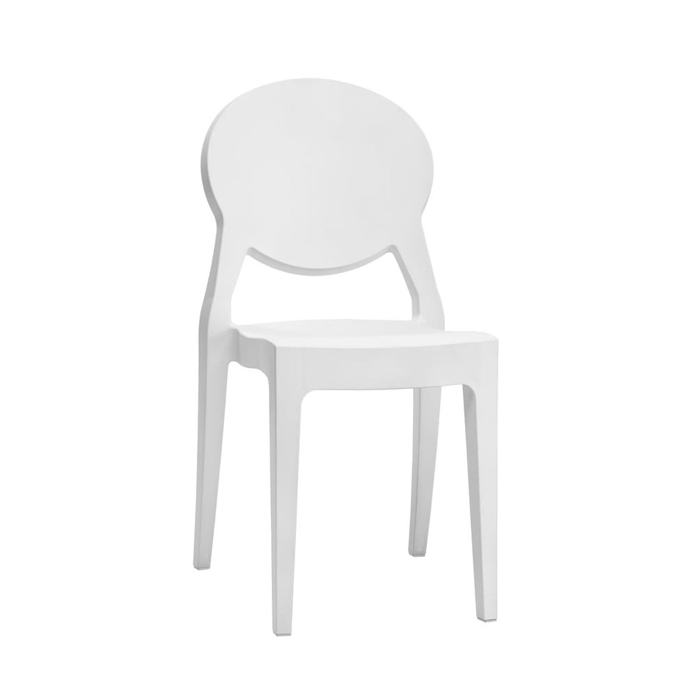 chaise igloo gale blanche
