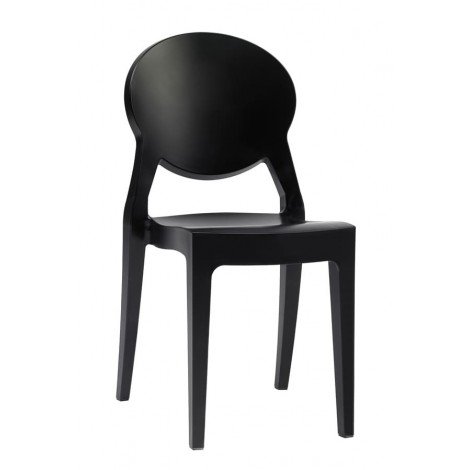 Igloo chair by Scab Design , in polycarbonate, stackable, available in several finishes