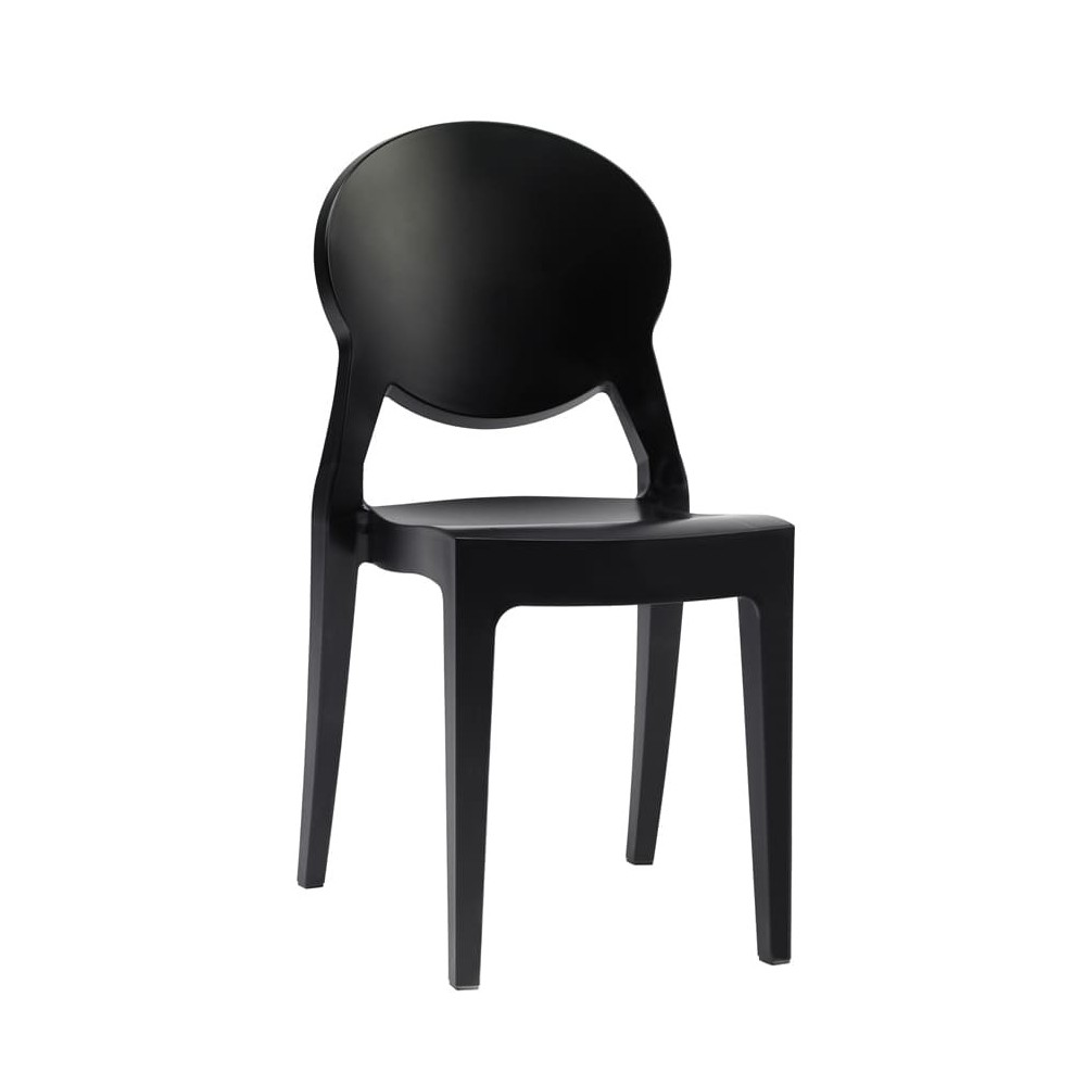 chaise igloo gale noire
