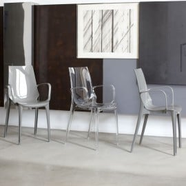set vanity chair with armrests