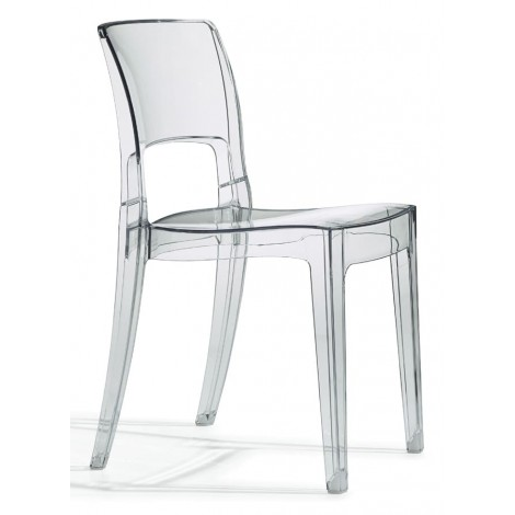 Isy Antishock polycarbonate chair, stackable and suitable for outdoor use