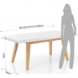 Joker extendable table by Tomasucci made