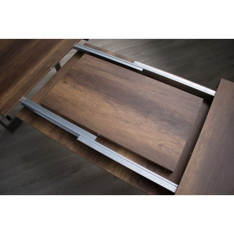 itamoby volantis extendable max 440 walnut guides