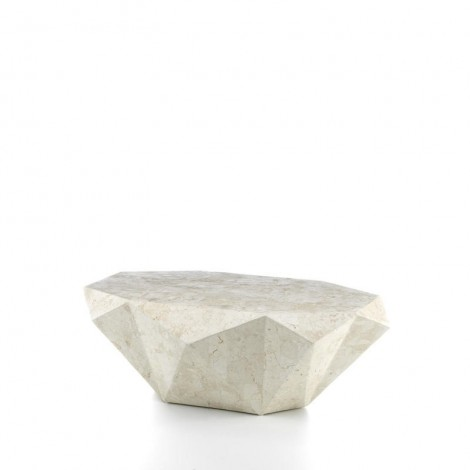 stones diamond medium light living room table