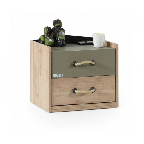 Home Bedside Table with One...