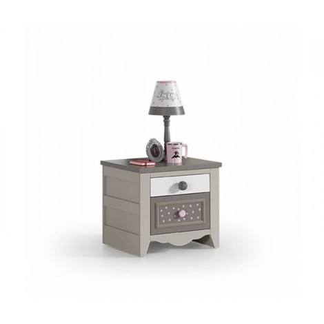 Pretty Bedside Table with...