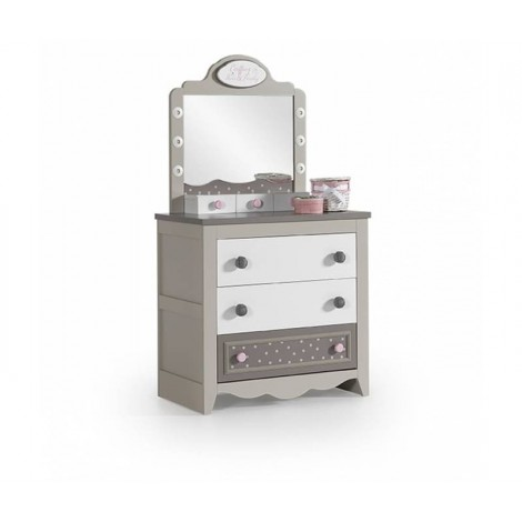 Pretty Dresser in Wood with...