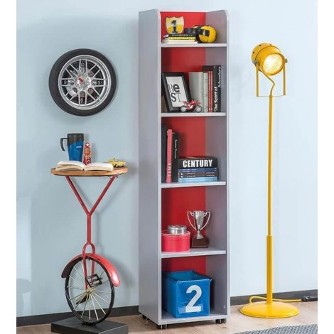Turbo Bookcase in Wood,...