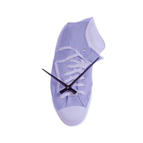 Richie Scarpa Converse wall clock in hand-decorated resin. Made in Italy