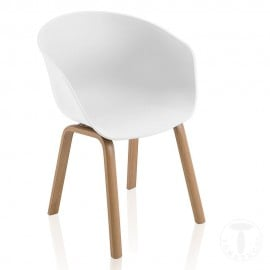 Mork chair by Tomasucci made with metal