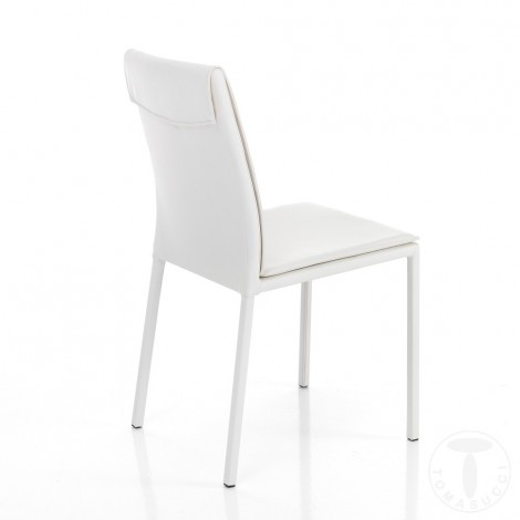 Meda chair by Tomasucci with metal