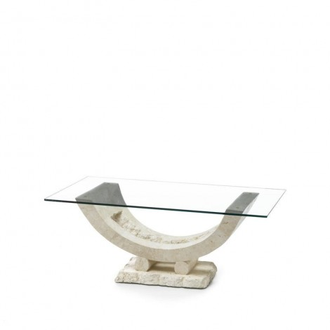 Gondola smoking table with marine