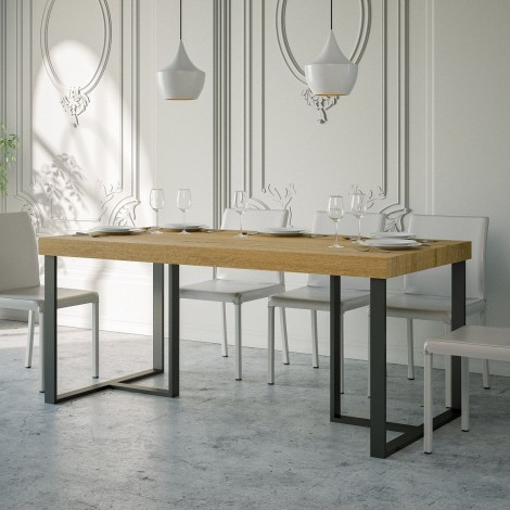 Apollo fixed table with...