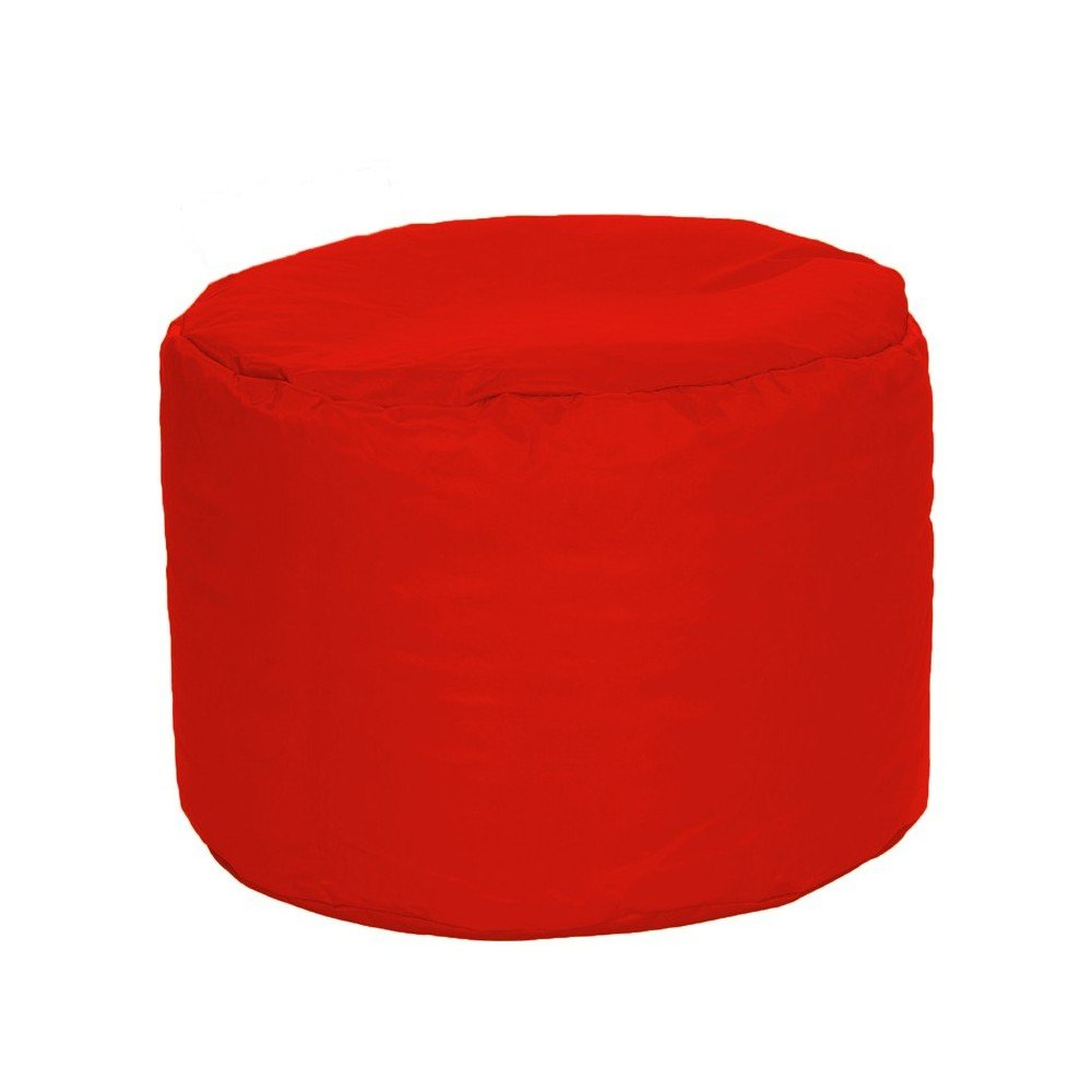 waterproof cylindrical pouf for interior and exterior