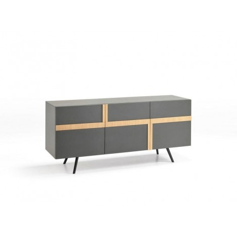 stones ginger gray brown tv stand