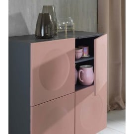 Buffet ouvert Draco Stones rose