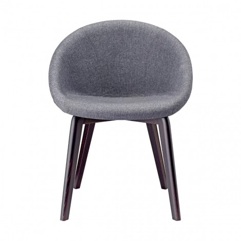 Natural Giulia Pop scab gray front armchair