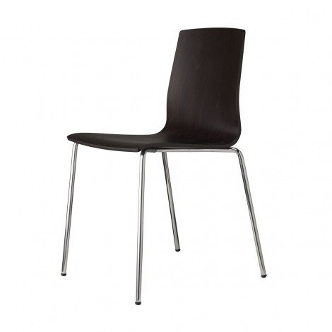 Alice Wood chair by Scab side view