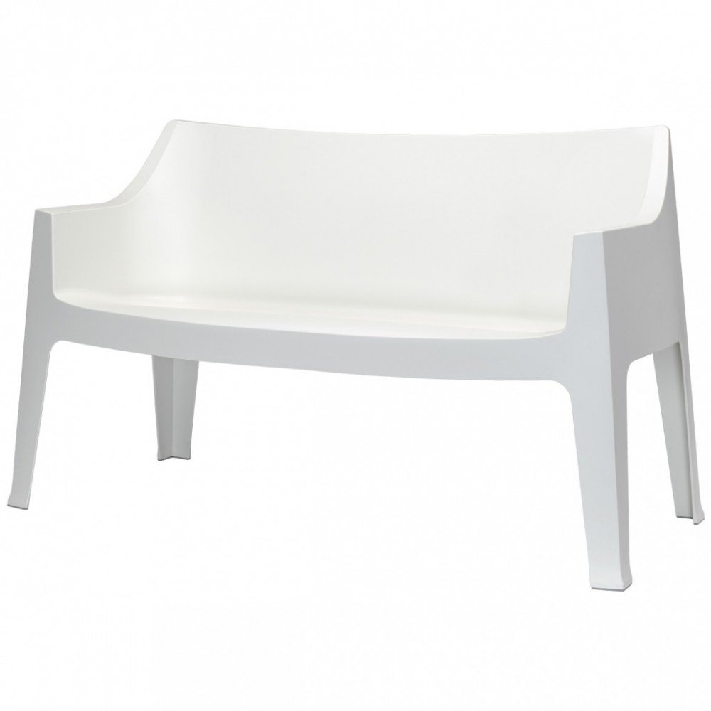 Coccolona outdoor white sofa by scab
