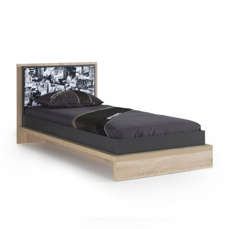 City single bed made of...