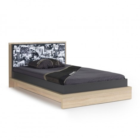 City double bed made of...