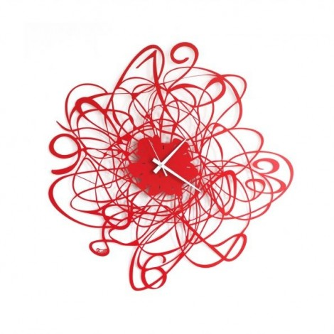 Doodle wall clock by Arti e...