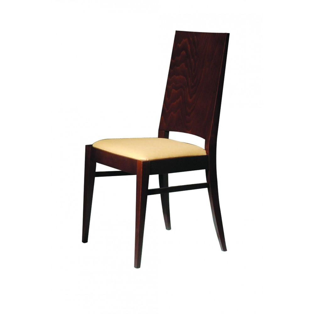 Daniela chair in solid wood made